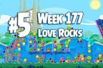 Angry Birds Friends 2015 Love Rocks Tournament Level 5 Week 177 Walkthrough