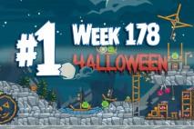 Angry Birds Friends 2015 Halloween Tournament Level 1 Week 178 Walkthrough