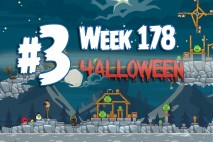 Angry Birds Friends 2015 Halloween Tournament Level 3 Week 178 Walkthrough