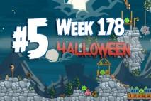 Angry Birds Friends 2015 Halloween Tournament Level 5 Week 178 Walkthrough