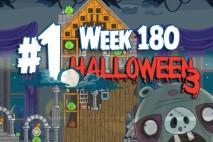 Angry Birds Friends 2015 Halloween Tournament Level 1 Week 180 Walkthrough