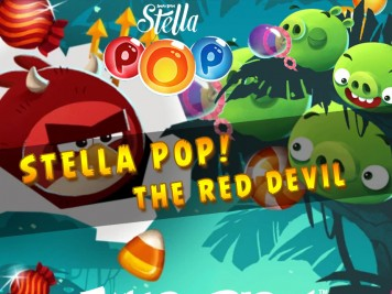 Angry Birds Pop Halloween Update The red devil Feature Image