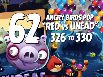 Angry Birds Stella Pop Featured Image Levels 326  thru 330 Halloween Red vs Undead Update