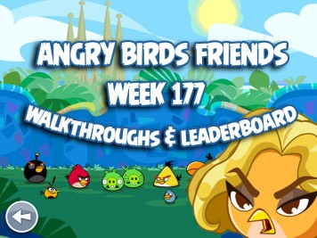 Angry Birds Tournament Week 177 Feature Image
