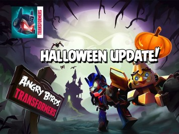 Angry Birds Transformers Halloween Update Feature Image
