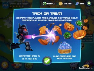 Angry Birds Transformers Halloween Update Out Now