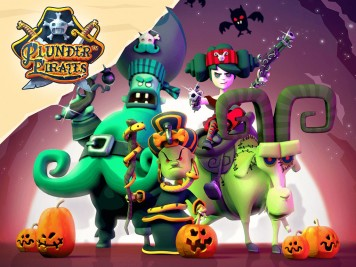 Plunder Pirates Halloween 2015 Update Feature Image