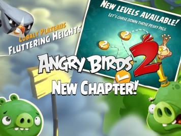 Angry Birds 2 Update Fluttering Heights Feature Image