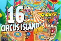 Angry Birds Fight! Circus Island ACED!