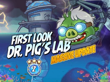 Angry Birds Fight Update - First Look at Dr. Pig's Lab Featured Image