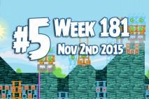 Angry Birds Friends 2015 Tournament Level 5 Week 181 Walkthrough
