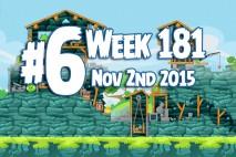 Angry Birds Friends 2015 Tournament Level 6 Week 181 Walkthrough
