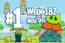 Angry Birds Friends 2015 Moustache Pig Tournament Level 1 Week 182 Walkthrough