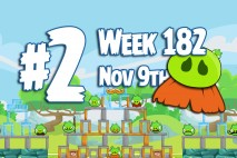 Angry Birds Friends 2015 Moustache Pig Tournament Level 2 Week 182 Walkthrough