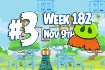 Angry Birds Friends 2015 Moustache Pig Tournament Level 3 Week 182 Walkthrough