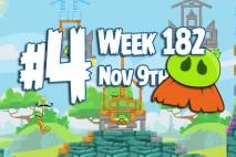 Angry Birds Friends 2015 Moustache Pig Tournament Level 4 Week 182 Walkthrough