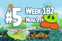 Angry Birds Friends 2015 Moustache Pig Tournament Level 5 Week 182 Walkthrough