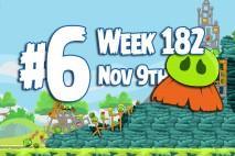 Angry Birds Friends 2015 Moustache Pig Tournament Level 6 Week 182 Walkthrough