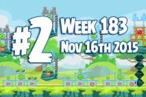 Angry Birds Friends 2015 Tournament Level 2 Week 183 Walkthrough