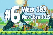 Angry Birds Friends 2015 Tournament Level 6 Week 183 Walkthrough
