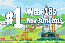 Angry Birds Friends 2015 Tournament Level 1 Week 185 Walkthrough