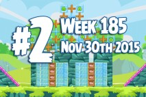 Angry Birds Friends 2015 Tournament Level 2 Week 185 Walkthrough