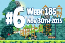 Angry Birds Friends 2015 Tournament Level 6 Week 185 Walkthrough