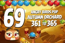 Angry Birds Pop Levels 361 to 365 Autumn Orchard Walkthroughs