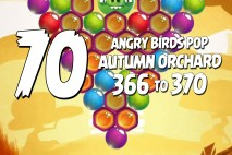 Angry Birds Pop Levels 366 to 370 Autumn Orchard Walkthroughs