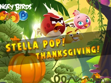 Angry Birds Pop Thankgiving Update Feature image