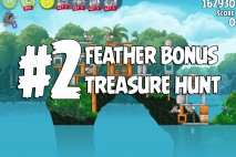 Angry Birds Rio Treasure Hunt Feather Bonus Walkthrough Level 2