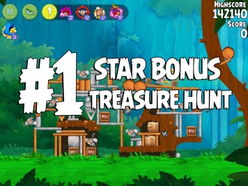 Angry Birds Rio Treasure Hunt Star Bonus #1 copy
