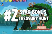 Angry Birds Rio Treasure Hunt Star Bonus Walkthrough Level 2