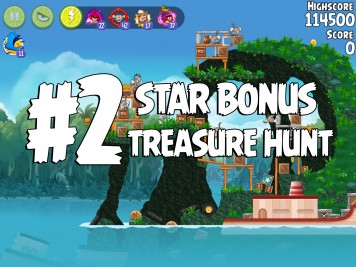 Angry Birds Rio Treasure Hunt Star Bonus #2