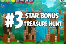 Angry Birds Rio Treasure Hunt Star Bonus Walkthrough Level 3