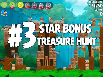 Angry Birds Rio Treasure Hunt Star Bonus #3