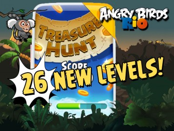 Angry Birds Rio Treasure Hunt Update Part 2 Feature Image