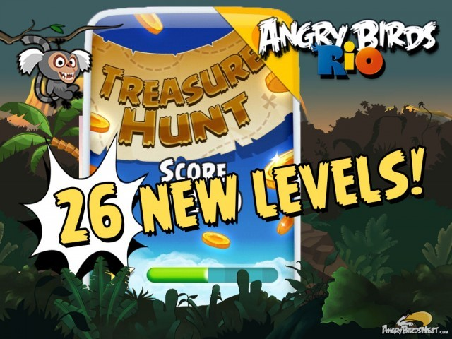 Angry Birds Rio Treasure Hunt!