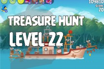 Angry Birds Rio Treasure Hunt Walkthrough Level #22