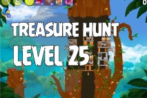 Angry Birds Rio Treasure Hunt Walkthrough Level #25