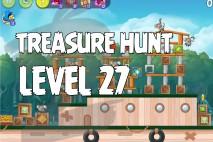 Angry Birds Rio Treasure Hunt Walkthrough Level #27