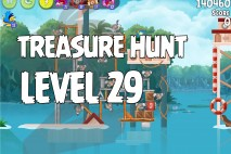 Angry Birds Rio Treasure Hunt Walkthrough Level #29