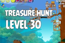 Angry Birds Rio Treasure Hunt Walkthrough Level #30