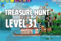 Angry Birds Rio Treasure Hunt Walkthrough Level #31