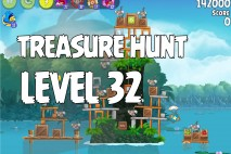 Angry Birds Rio Treasure Hunt Walkthrough Level #32
