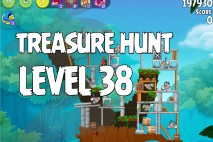 Angry Birds Rio Treasure Hunt Walkthrough Level #38