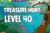 Angry Birds Rio Treasure Hunt Walkthrough Level #40