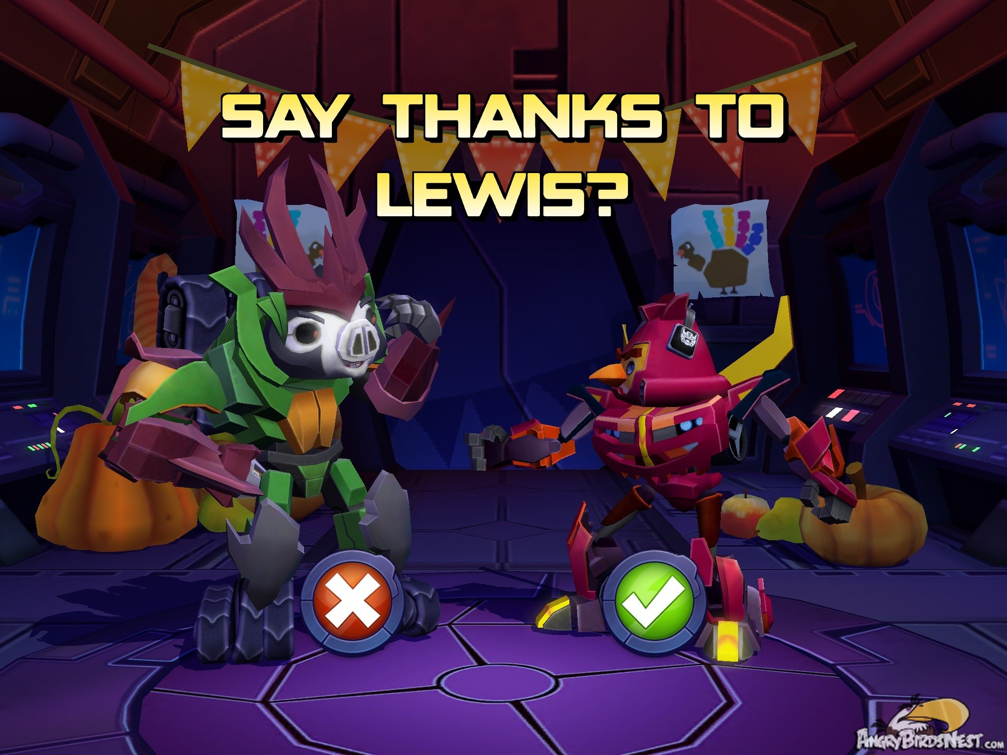 Angry Birds Transformers Thanksgiving Update Out Now