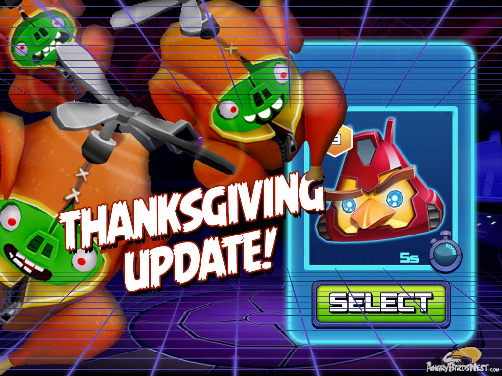 Angry Birds Transformers Thanksgiving Update Out Now ...