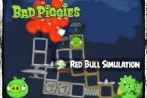 Bad Piggies – PIGineering: RED BULL STRATOS simulation